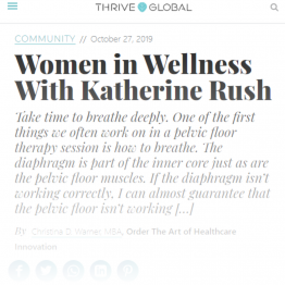 Women in Wellness With Katherine Rush
